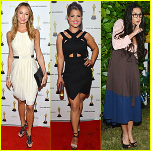 Stacy Keibler & Demi Moore: 'Terrywood' Release Celebration!
