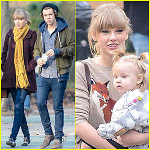 Taylor Swift & Harry Styles: Central Park Stroll!