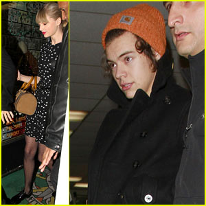 Taylor Swift & Harry Styles: Tattoo Parlor Twosome!