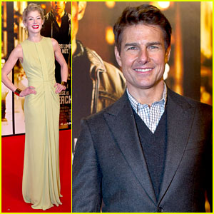 Tom Cruise: 'Jack Reacher' Stockholm Premiere!