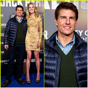 Tom Cruise & Rosamund Pike: 'Jack Reacher' Madrid Premiere!