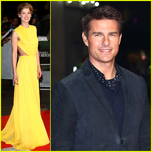 Tom Cruise & Rosamund Pike: 'Jack Reacher' World Premiere!