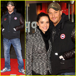Tom Hardy: 'Jack Reacher' Premiere with Charlotte Riley!