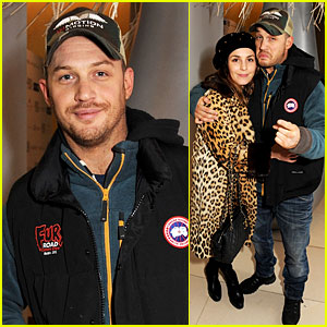 Tom Hardy & Noomi Rapace: English National Ballet Party!