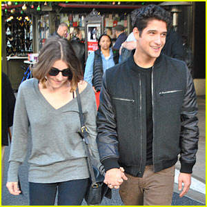 Tyler Posey: Christmas Eve Shopping with Seana Gorlick!