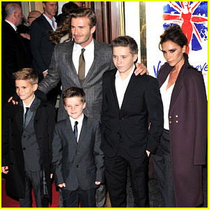 Victoria Beckham: 'Viva Forever' with David & the Boys!