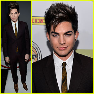 Adam Lambert: Step Up on Vine Grand Opening!