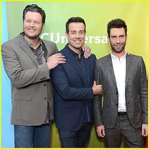 Adam Levine & Blake Shelton: 'The Voice' TCA Press Tour!