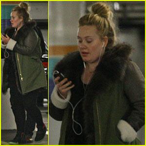 Adele: Weekend in Beverly Hills!