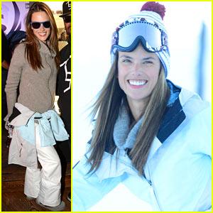 Alessandra Ambrosio: Sundance Snowboarder!