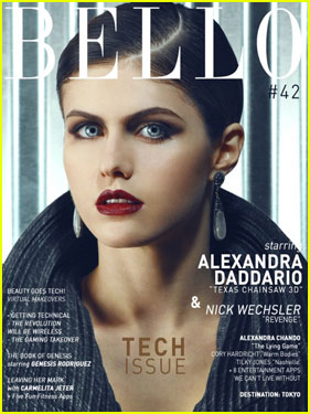 Alexandra Daddario Covers 'Bello' Magazine's First Tech Issue!