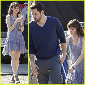 Alexis Bledel & Zachary Levi: 'Remember Sunday' Premieres in April!