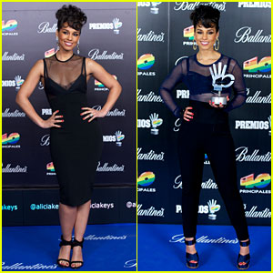 Alicia Keys: 40 Principales Awards Performance - Watch Now!