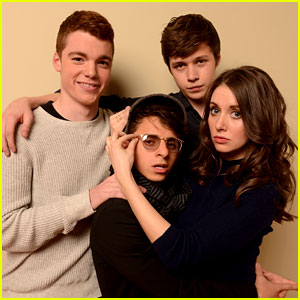 Alison Brie & Nick Robinson: 'Toy's House' Sundance Portraits!