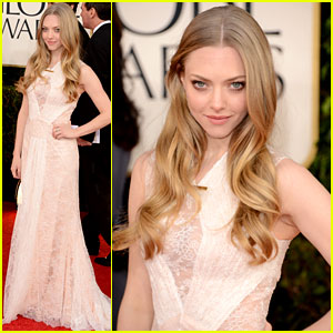 Amanda Seyfried - Golden Globes 2013 Red Carpet