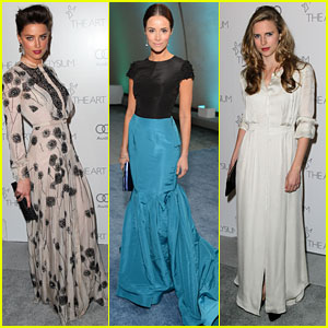 Amber Heard & Abigail Spencer - Art of Elysium Gala