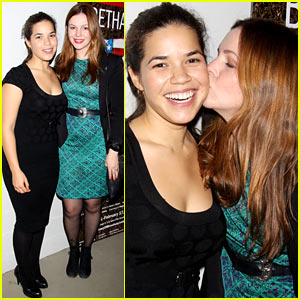 America Ferrera: 'Bethany' After Premiere Party!