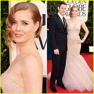 Amy Adams - Golden Globes 2013 Red Carpet