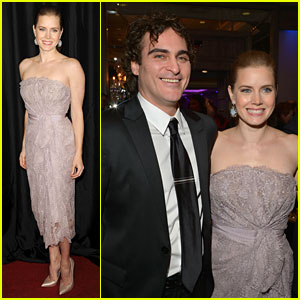 Amy Adams & Joaquin Phoenix: L.A. Film Critics Awards!