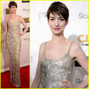 Anne Hathaway - Critics' Choice Awards 2013 Red Carpet