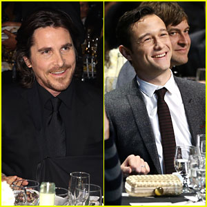 Christian Bale & Joseph Gordon-Levitt - Critics' Choice Awards 2013