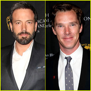 Ben Affleck & Benedict Cumberbatch - BAFTA Tea Party 2013