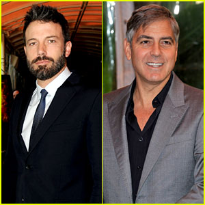 Ben Affleck & George Clooney - AFI Awards 2013 Red Carpet