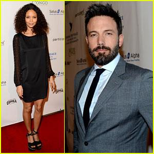 Ben Affleck & Thandie Newton: Cinema for Peace Gala
