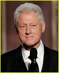 Bill Clinton at Golden Globes: 'Hillary Is Doing Great!'