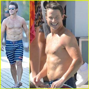 Billy Bush: Shirtless 'Access Hollywood' Segment!