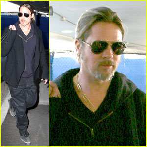 Brad Pitt: Los Angeles Arrival!