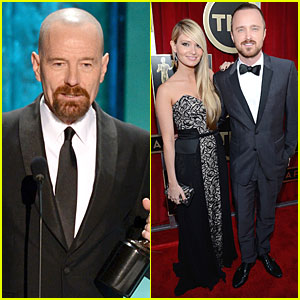 Bryan Cranston: SAG Awards Drama Series Actor Winner!