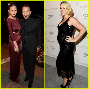 Busy Philipps & John Legend - Art of Elysium Gala