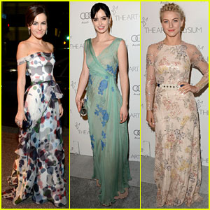 Camilla Belle & Julianne Hough - Art of Elysium Heaven Gala