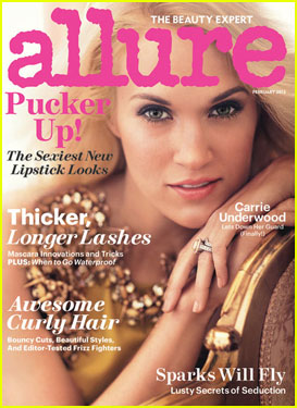 Carrie Underwood Covers 'Allure' Magazine February 2013