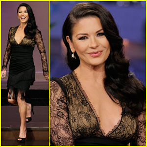 Catherine Zeta-Jones: 'Tonight Show with Jay Leno' Visit!