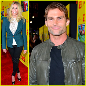 Chelsea Handler & Seann William Scott: 'Movie 43' Premiere!