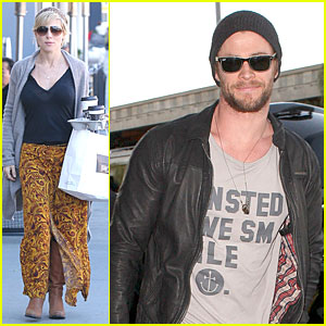 Chris Hemsworth & Elsa Pataky: Separate Los Angeles Outings!