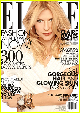 Claire Danes Covers 'Elle' February 2013