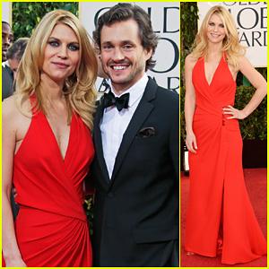Claire Danes & Hugh Dancy - Golden Globes 2013 Red Carpet