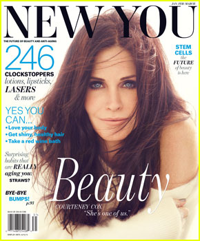 Courteney Cox Covers 'New You' Magazine Winter 2013