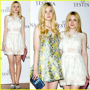 Dakota & Elle Fanning: J.Estina Campaign Launch!