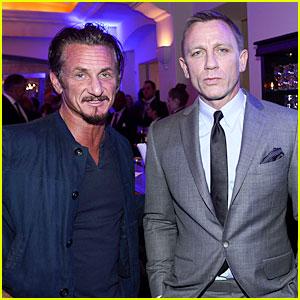 Daniel Craig & Sean Penn: Help Haiti Home Gala Guys!