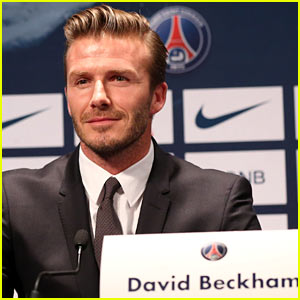 David Beckham Joins Paris Saint-Germain Soccer Team!