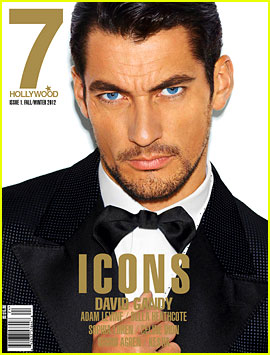 David Gandy Covers '7 Hollywood' Icons Issue