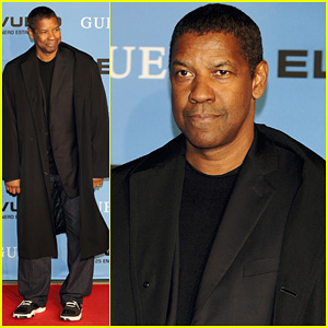 Denzel Washington: 'Flight' Madrid Premiere!