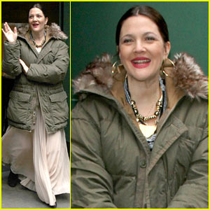 Drew Barrymore: 'Good Morning America' Appearance!