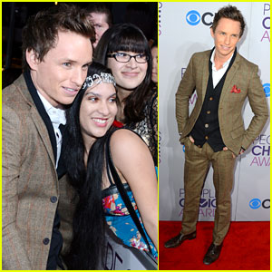 Eddie Redmayne - People's Choice Awards 2013 Red Carpet