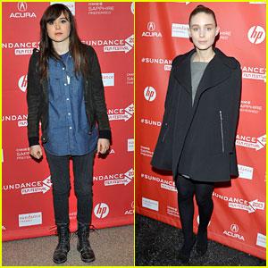Ellen Page & Rooney Mara: Sundance Film Premieres!