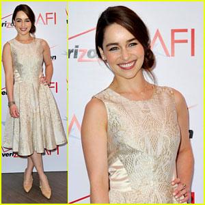 Emilia Clarke - AFI Awards 2013 Red Carpet